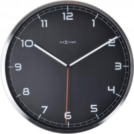 Company Black Wall Clock 35cm