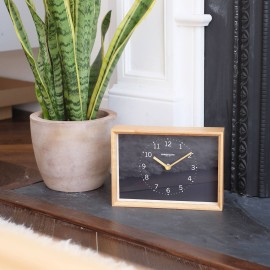 Rodig Charcoal Mantel Clock 24cm