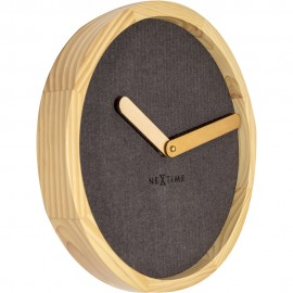 Calm Brown Wall Clock 30cm
