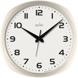 Lucia Buttermilk Wall Clock 30.7cm