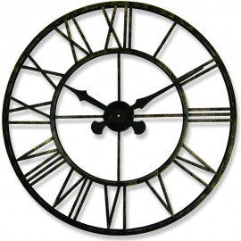 Rustic Outdoor Clock 70cm