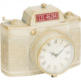 Mantel Clock Cream Camera 24cm