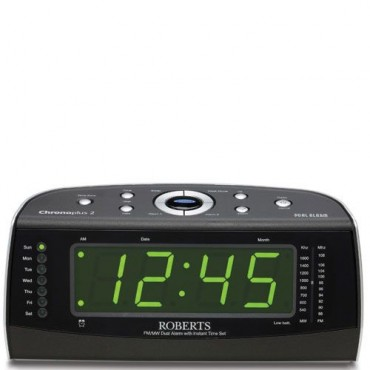 Roberts Radio Dual Alarm Clock With FM/MW Radio