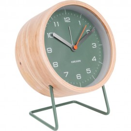 Innate XL Green Alarm Clock 14cm