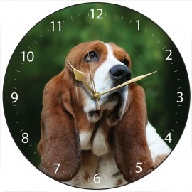 Mr Bassett Wall Clock 28.5cm