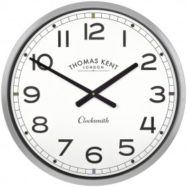 Clocksmith Grey Wall Clock 51cm