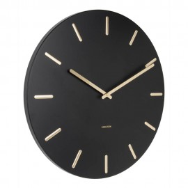 Charm Black Wall Clock 45cm