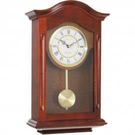 Walnut Finish Westminster Chime Pendulum Clock 47cm