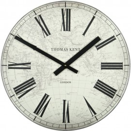 Wharf Map Wall Clock 51cm