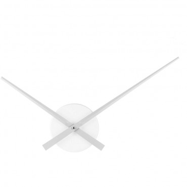 Little Big Time Silver Wall Clock 38cm
