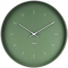 Butterfly Green Wall Clock 27.5cm