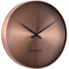 Element Copper Wall Clock 27.5cm