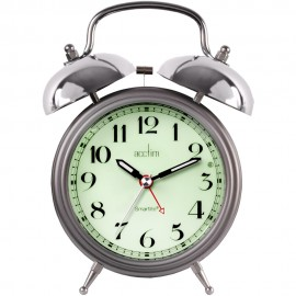Union Smartlite Twin Bell Alarm Clock 17.5cm