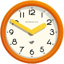 Pumpkin Orange Pantry Wall Clock 23.5cm