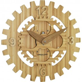 Rotere Rotating Gear Wall Clock 39cm