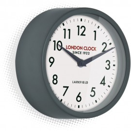 Horwich Grey Wall Clock 18cm