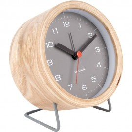 Innate Black Alarm Clock 12cm