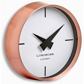 Copper Cosmo Wall Clock 23cm
