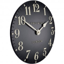 Arabic Black Wall Clock 30cm
