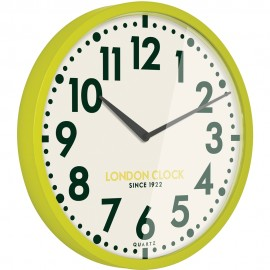 Limelight Wall Clock Lime 50cm