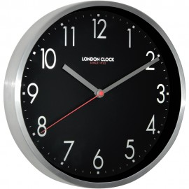 Mirage Wall Clock Black 25cm