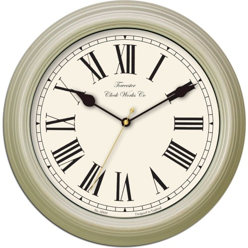Redbourn Cream Wall Clock 30cm