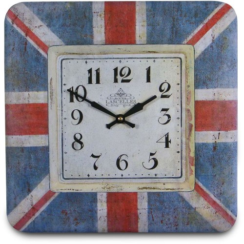 Union Jack Wall Clock 31cm