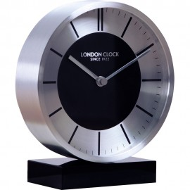 Charcoal Mantel Clock 15cm