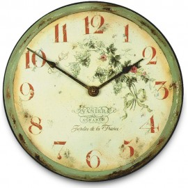 Vine Yard Wall Clock 36cm