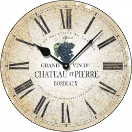 Chateau St Pierre Wall Clock 36cm or 45cm