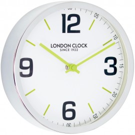 Zest Wall Clock Lime Hands 20.5cm