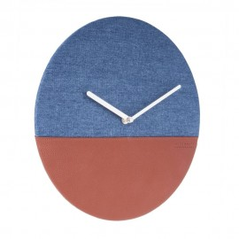 Leather & Jeans Wall Clock 30cm
