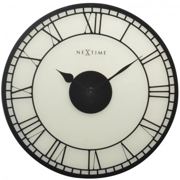 Big Ben Stained Glass Window Wall Clock 43cm