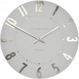Mulberry Silver Cloud Wall Clock 50cm