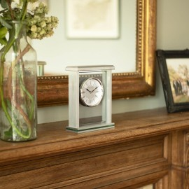 Flat Top Mantel Clock 21cm