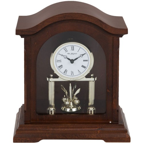 Broken Arch Mantel Clock 23.5cm