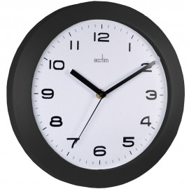 Aylesbury Black Wall Clock 25.5cm