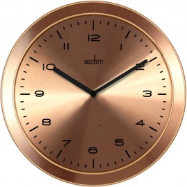 Dalston Ultra-Slim Gold Wall Clock 28cm