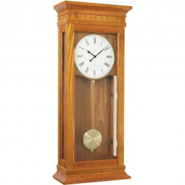 Light Oak Westminster Chime Pendulum Clock 69cm
