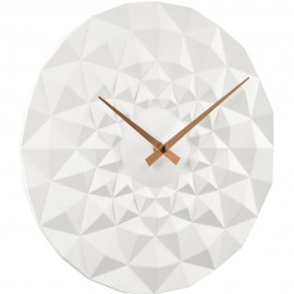 Friction White Wall Clock 30cm