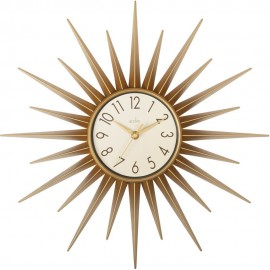 Stella Gold Wall Clock 43cm