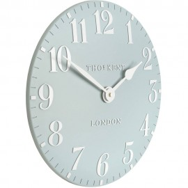 Arabic Wall Stonewash Blue Wall Clock 30cm