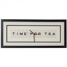 Time For Tea Wall Clock 51cm