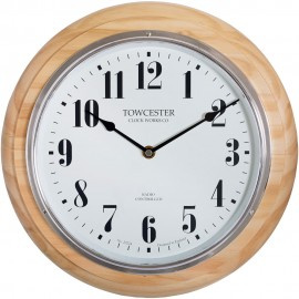 Haswell Birch Radio Controlled Wall Clock 32cm