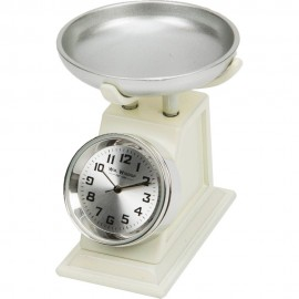 Miniature Clock Weighing Scales