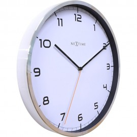 Company White Wall Clock 35cm