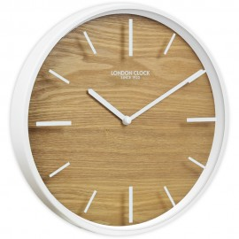 Skog Wall Clock Wood 30cm