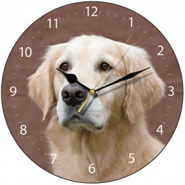Golden Retriever Wall Clock 28.5cm