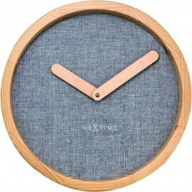 Calm Grey Wall Clock 30cm