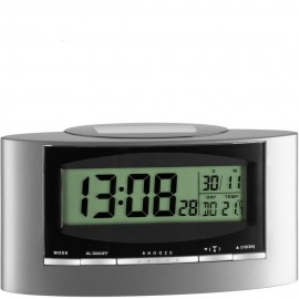 Solar Powered Alarm Clock 15.5cm